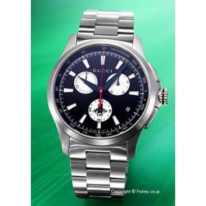 グッチ GUCCI 腕時計 メンズ G-Timeless Chronograph ブラック(シルバー) YA126267|trend-watch