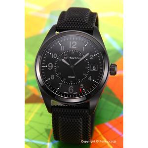 HAMILTON ハミルトン 腕時計 カーキ フィールド オールブラック H68401735|trend-watch