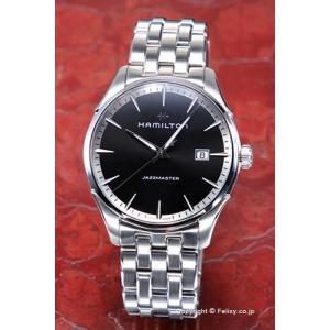ハミルトン HAMILTON 腕時計 Jazzmaster Gent (ジャズマスター ジェント) ブラック H32451131|trend-watch