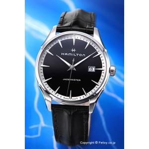 ハミルトン HAMILTON 腕時計 Jazzmaster Gent (ジャズマスター ジェント) ブラック H32451731|trend-watch
