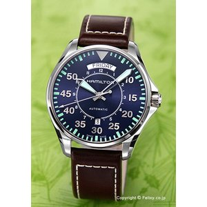 ハミルトン HAMILTON 腕時計 メンズ Khaki Pilot Day Date Auto H64615545|trend-watch