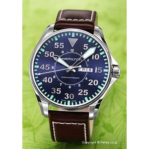 ハミルトン HAMILTON 腕時計 メンズ Khaki Pilot Auto H64715545|trend-watch