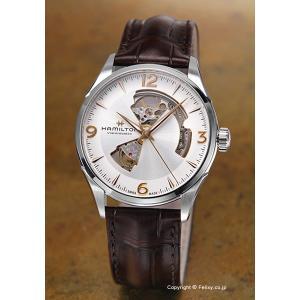ハミルトン HAMILTON 腕時計 メンズ Jazzmaster Open Heart Auto  H32705551|trend-watch