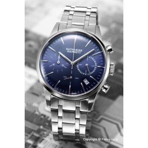 キャサリンハムネット 腕時計 メンズ KH20C5-B64 Chronograph VI(クロノグラフ6) ブルースティール|trend-watch