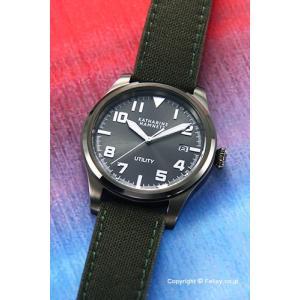 キャサリンハムネット 腕時計 メンズ KH24D7-29 UTILITY グレースティール|trend-watch