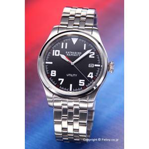 キャサリンハムネット 腕時計 メンズ KH20D7-B39 UTILITY ブラック|trend-watch