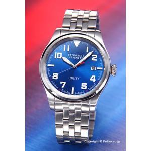 キャサリンハムネット 腕時計 メンズ KH20D7-B69 UTILITY ブルースティール trend-watch