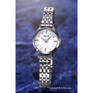 キャサリンハムネット 腕時計 レディース KH70G1-B14 ENGLISH SLICK シルバーホワイト|trend-watch
