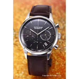 キャサリンハムネット 腕時計 メンズ KH20C5-24 Chronograph VI(クロノグラフ6) グレースティール|trend-watch
