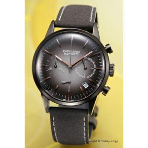 キャサリンハムネット 腕時計 メンズ クロノグラフVI KH24H5-34 trend-watch