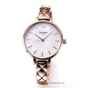 ケイトスペード KATE SPADE 腕時計 レディース Metro Quilted Link KSW1466 trend-watch