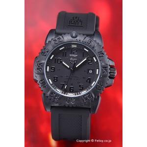 ルミノックス 腕時計 レディース NAVY SEALs DIVE WATCH 7050 COLORMARK SERIES (ネービーシールズ) ブラックアウト 7051BO|trend-watch