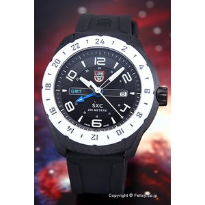 LUMINOX ルミノックス メンズ腕時計 5027 スペースシリーズ SXC PCカーボンGMT5020|trend-watch