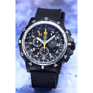 LUMINOX ルミノックス メンズ腕時計 8841.KM SET リーコン リーダークロノグラフ ブラック(イエロー)|trend-watch