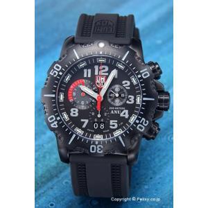 ルミノックス LUMINOX 腕時計 メンズ 4241.NV ANU クロノグラフ  オールブラック|trend-watch