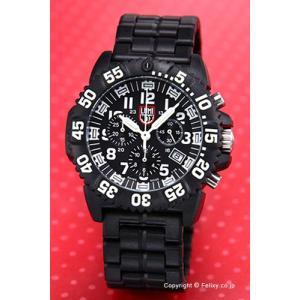 ルミノックス LUMINOX 腕時計 NAVY SEALs COLORMARK クロノグラフ ブラック 3082|trend-watch