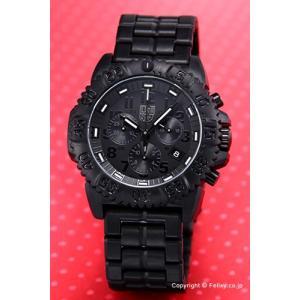 ルミノックス LUMINOX 腕時計 NAVY SEALs COLORMARK クロノグラフ ブラックアウト 3082.BO|trend-watch