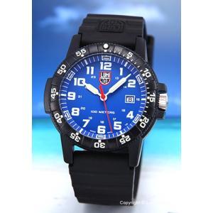 ルミノックス LUMINOX 腕時計 メンズ LEATHERBACK SEA TURTLE GIANT 0320SERIES ブルー 0323|trend-watch