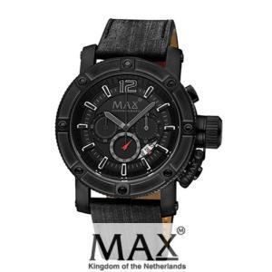 マックス 腕時計 MAX XL WATCHES The Chronograph (ザ クロノグラフ) オールブラック 5-MAX661|trend-watch