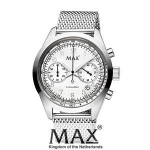 マックス 腕時計 MAX XL WATCHES The Chrono MAX (ザ クロノ マックス) シルバー 5-MAX664|trend-watch