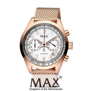 マックス 腕時計 MAX XL WATCHES The Chrono MAX (ザ クロノ マックス) シルバー×ローズゴールド 5-MAX667|trend-watch