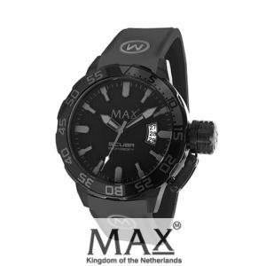 マックス 腕時計 MAX XL WATCHES The Scuba (ザ スクーバ) オールブラック×グレー 5-MAX695|trend-watch
