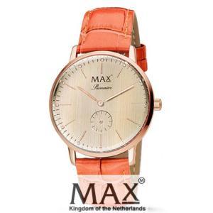 マックス 腕時計 MAX XL WATCHES パイオニア ライトローズゴールド/オレンジ 5-MAX730|trend-watch