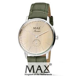 マックス 腕時計 MAX XL WATCHES パイオニア ライトローズゴールド/グリーン 5-MAX732|trend-watch