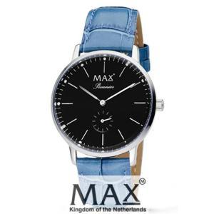 マックス 腕時計 MAX XL WATCHES パイオニア ブラック/ライトブルー 5-MAX733|trend-watch