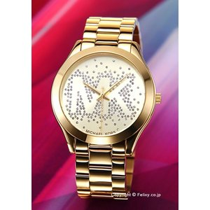 マイケルコース MICHAEL KORS 腕時計 レディース ランウェイ スリム ゴールド MK3590|trend-watch