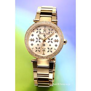 マイケルコース MICHAEL KORS 腕時計 レディース ミニ パーカー フローラル ゴールド(クリスタル) MK6469|trend-watch