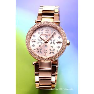 マイケルコース MICHAEL KORS 腕時計 レディース ミニ パーカー フローラル ローズゴールド(クリスタル) MK6470|trend-watch