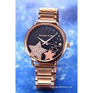 マイケルコース MICHAEL KORS 腕時計 レディース Portia ブラック×ローズゴールド MK3795|trend-watch