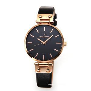モックバーグ 時計 MOCKBERG レディース 腕時計 SIGRID BLACK MO110|trend-watch