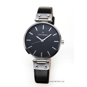 モックバーグ 時計 MOCKBERG レディース 腕時計 ASTRID BLACK MO111|trend-watch
