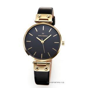 モックバーグ 時計 MOCKBERG レディース 腕時計 SAGA BLACK MO113|trend-watch