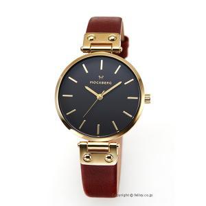モックバーグ 時計 MOCKBERG レディース 腕時計 SAGA BLACK MO114|trend-watch