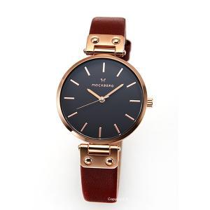 モックバーグ 時計 MOCKBERG レディース 腕時計 VILDE BLACK MO115|trend-watch