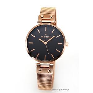 モックバーグ 時計 MOCKBERG レディース 腕時計 LILY NOIR MO308|trend-watch