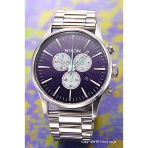 ニクソン 腕時計 メンズ NIXON THE SENTRY セントリー クロノ パープル A386230|trend-watch