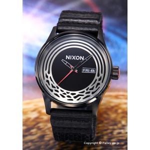 ニクソン 腕時計 NIXON SENTRY A1067SW2444 セントリーウーベン スターウォーズ カイロ/ブラック|trend-watch