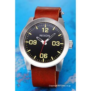 ニクソン 腕時計 メンズ NIXON Corporal (コーポラル) Black / Brown (ブラック/ブラウン) A243019 trend-watch