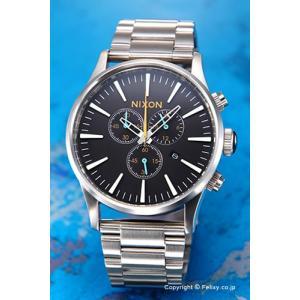 ニクソン 腕時計 メンズ NIXON THE SENTRY A3862336 セントリー クロノ ブラック/マルチ trend-watch