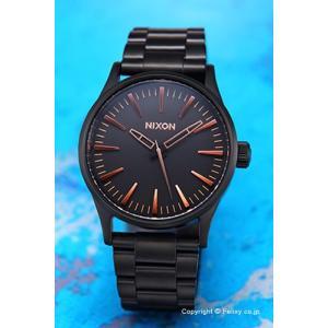 ニクソン NIXON 腕時計 メンズ レディース THE SENTRY A450957 セントリー38 SS オールブラック trend-watch