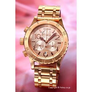 ニクソン 腕時計 NIXON 38-20 CHRONO Rose Gold A4041044 trend-watch