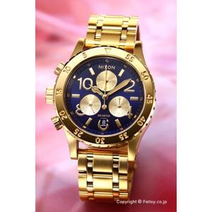 ニクソン 腕時計 NIXON 38-20 CHRONO All Gold / Navy A4042216|trend-watch