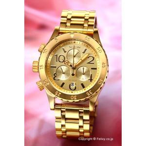 ニクソン 腕時計 NIXON 38-20 CHRONO Gold A404501|trend-watch