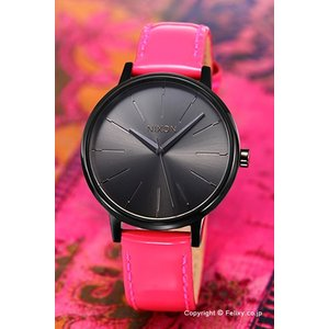 ニクソン NIXON 腕時計 レディース Kensington Leather Bright Pink Patent A1081394|trend-watch