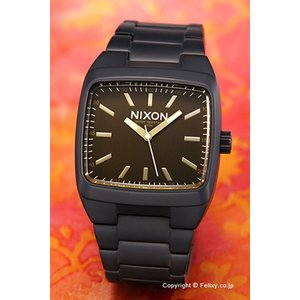 ニクソン NIXON 腕時計 メンズ Manual II Matte Black / Orange Tint A2441354|trend-watch