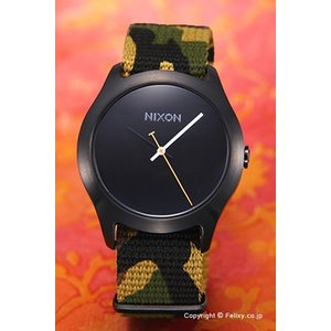 ニクソン 腕時計 NIXON Mod Black / Green Camo A3481629|trend-watch